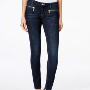 Michael Kors zipper pocket zipper jeans